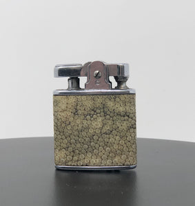 English Ivory Shagreen Ronson | Monogramed Lighter - Roughan Home