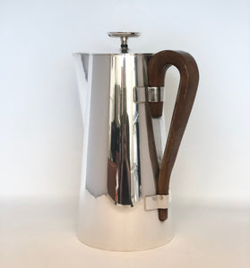 Tommi Parzinger | Polished Nickel Coffee Pot