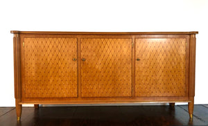 Jules Leleu | Palisandre & Marquetry Side Board - Roughan Home