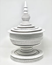 Load image into Gallery viewer, White Rattan | Pagoda - Roughan Home