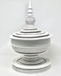 White Rattan | Pagoda - Roughan Home
