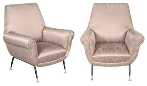 Gigi Radice | For Renzo Minotti Pair of Chairs - Roughan Home