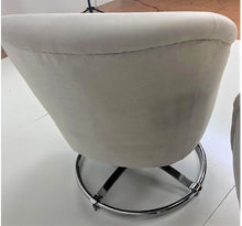 Load image into Gallery viewer, PR of Ward Bennett | Rare Barrel Back Swivel Chairs with Round Pedestal Base - Roughan Home