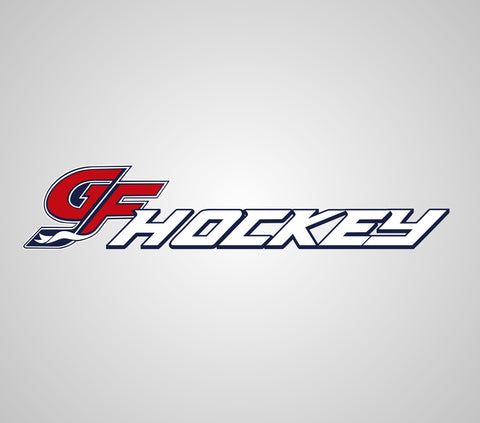 GF Hockey Helmet Stickers