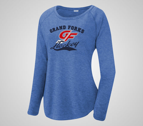 GF Hockey Scoop Neck Ladies Long Sleeve