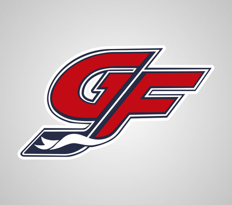 GF Hockey Car Logo Sticker