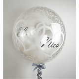 Personalisierter Bubble Ballon - Pure Love - Balloon Up - Ballongruß
