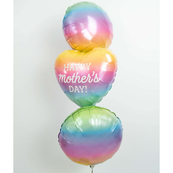 Happy Mother's Day - Ballongrüße mit Helium gefüllt - Balloon Up