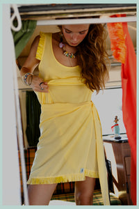 TROPICANA SKIRT - YELLOW