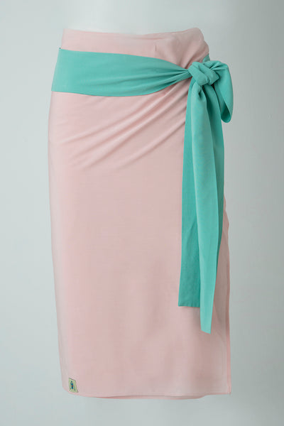 BUZZ WRAP - PINK. TURQUOISE