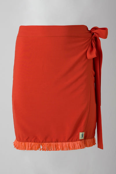 TROPICANA SKIRT - ORANGE