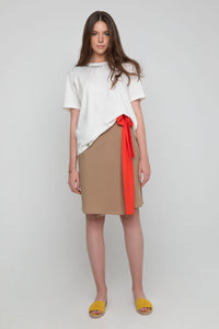 Buzz Wrap Beige-Red