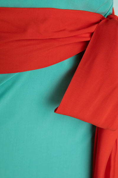 Buzz Wrap - Turquoise-Red