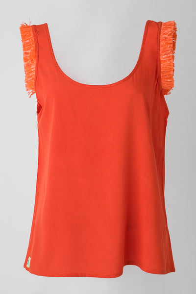 HAWAIIAN TOP - ORANGE