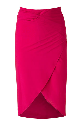 The 180° Wrap - Fuchsia