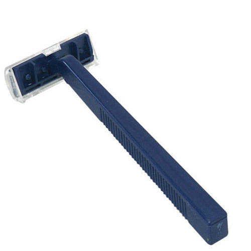 DYNAREX RAZOR TWIN BLADE DISPOSABLE, 50 PER BOX - fhmedicalservices