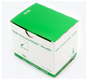 BD #305167 Needle 21 Gauge 1.5 Inch PrecisionGlide Sterile - Box/100