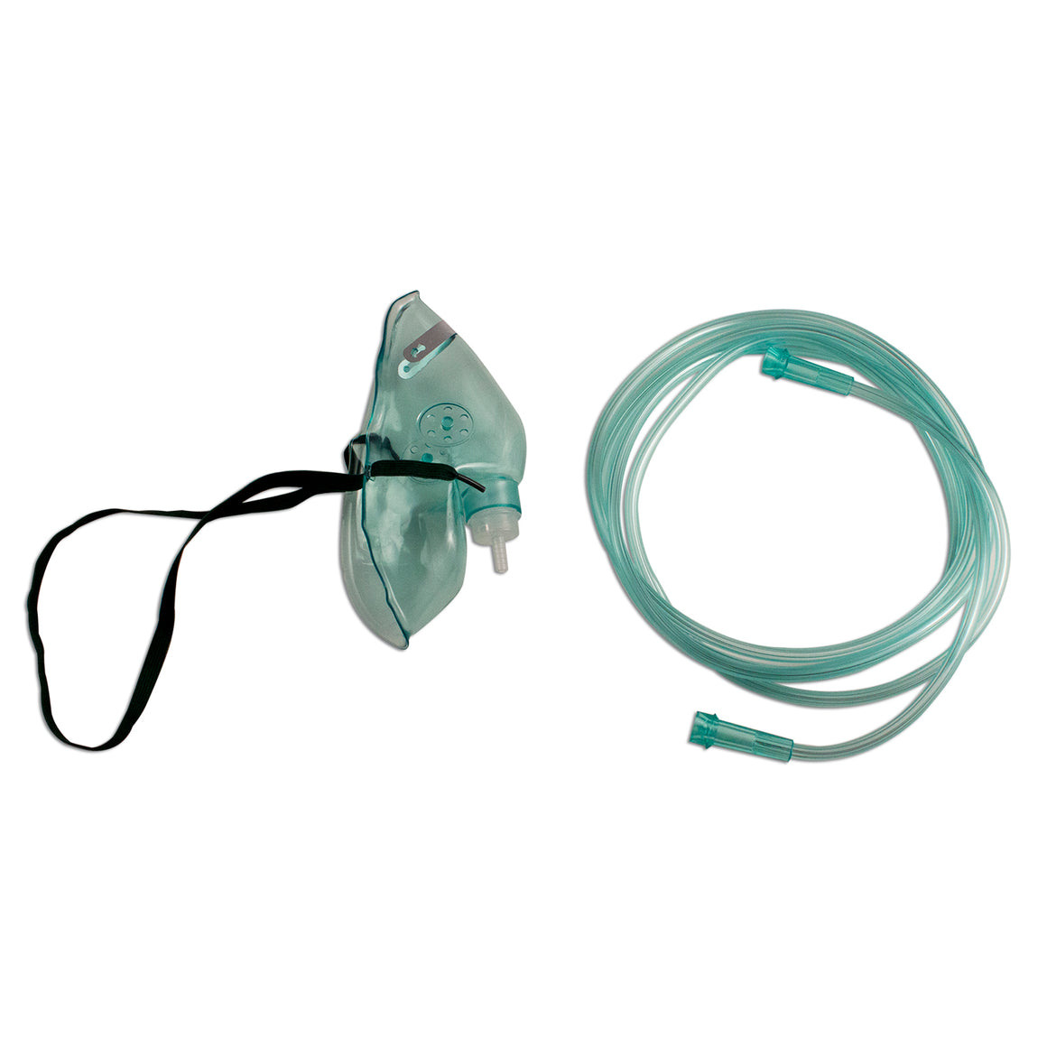 Dynarex #5302 Oxygen Mask, Elongated, 7 ft(2.1 m)
