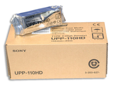 Sony 110HD High Density Imaging Paper #UPP-110HD / case - fhmedicalservices