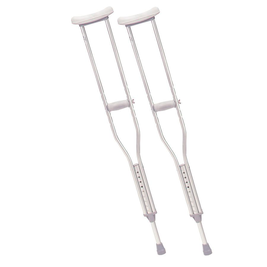 Pro Advantage Adult Crutches - Pair