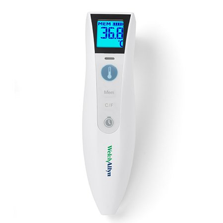 Welch Allyn #105801 Non-Contact Skin Surface Thermometer CareTemp™ Infrared Skin Probe Handheld