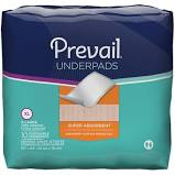 "First Quality PREVAIL Fluff Underpads #UP100 - 30""x30"" - 10 per bag"