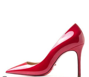 Genuine Leather Red Bottom Pumps