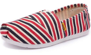Open image in slideshow, Flat Canvas Espadrilles