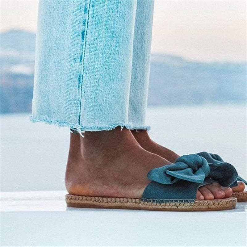 Espadrille Hemp & Linen Sandals