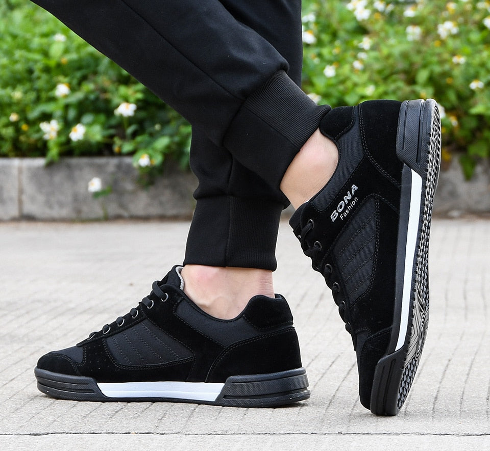 Unisex Leather Sport Sneakers