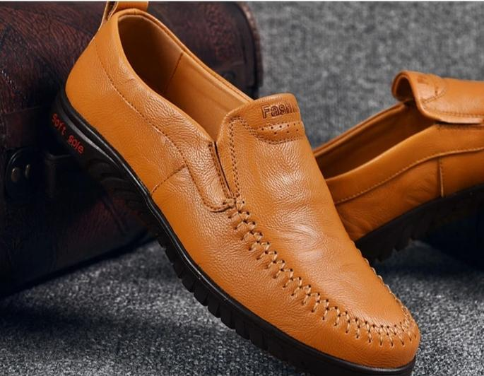 Genuine Leather Comfort Moccasins