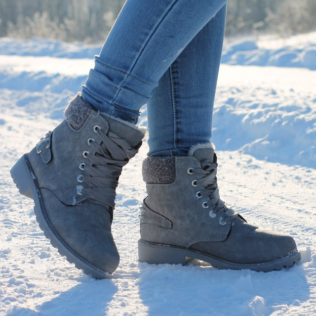 Warm Winter Snow Boots