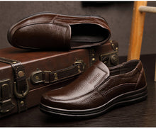 Load image into Gallery viewer, Genuine Leather Men Loafers