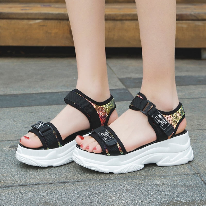 Thick Bottom Platform Sandals