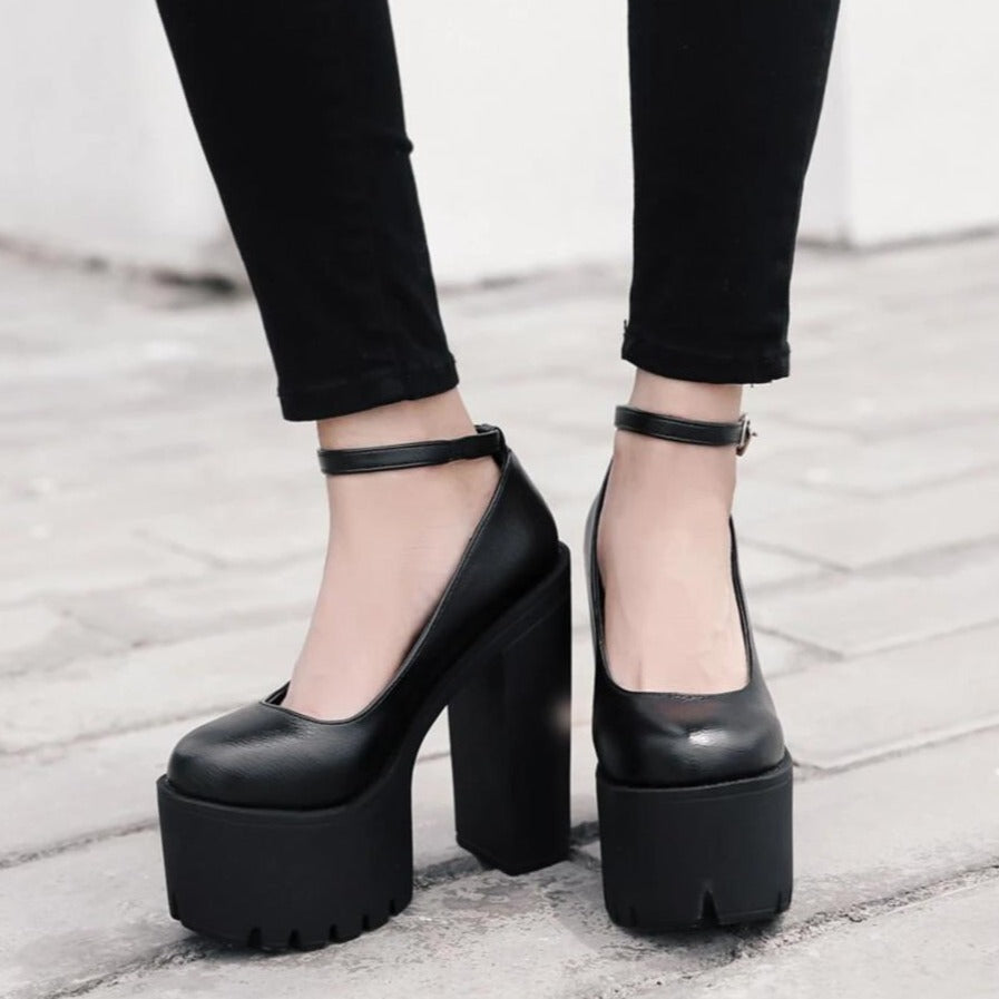 Thick Platform Pumps