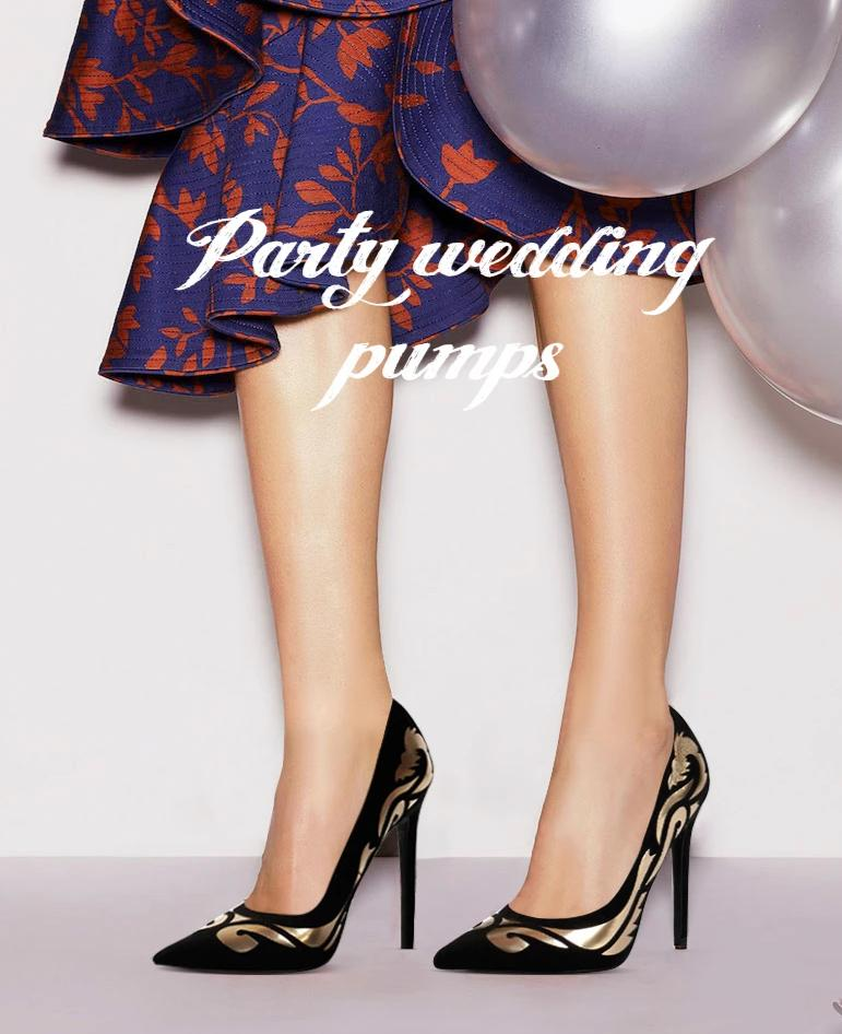 Ethnic Totem Party Pumps
