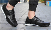Leather Walking Jogging Sneakers