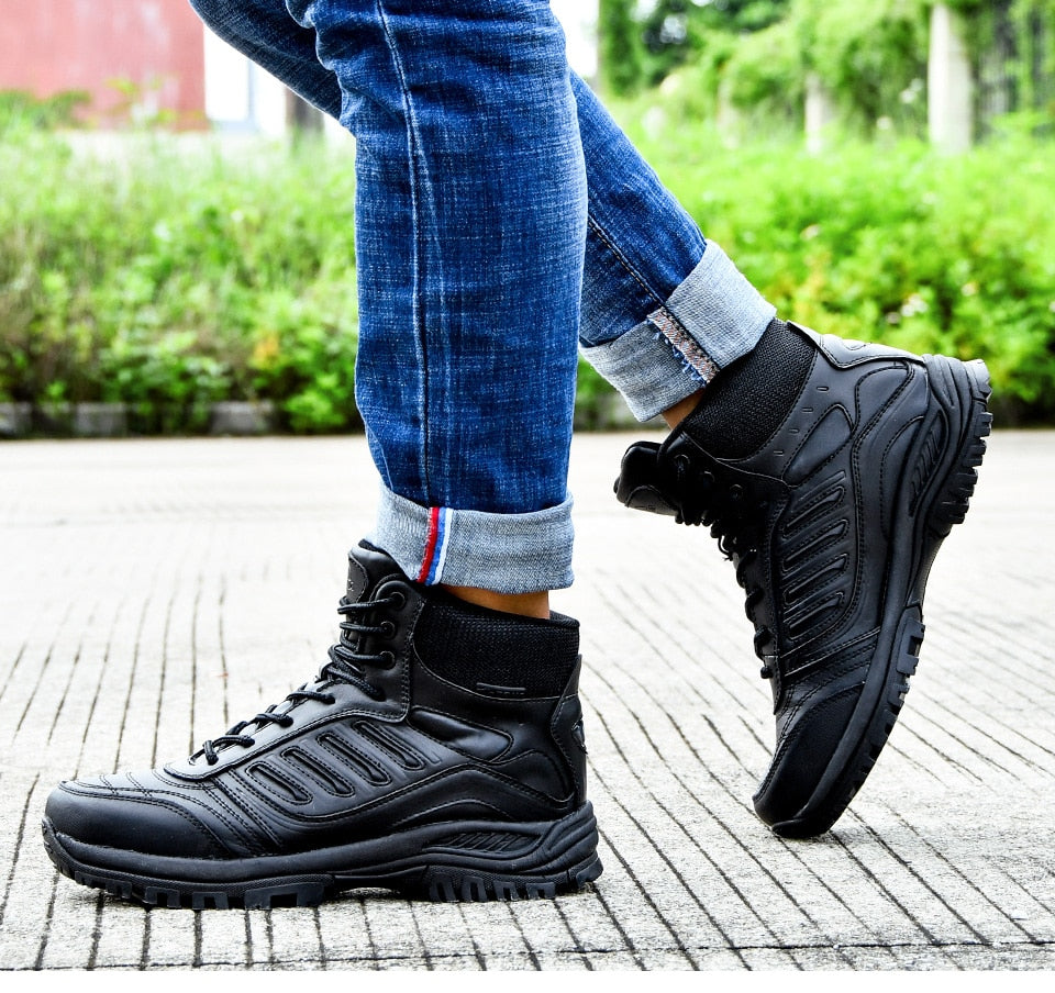 Leather Trekking Hunting Sneakers