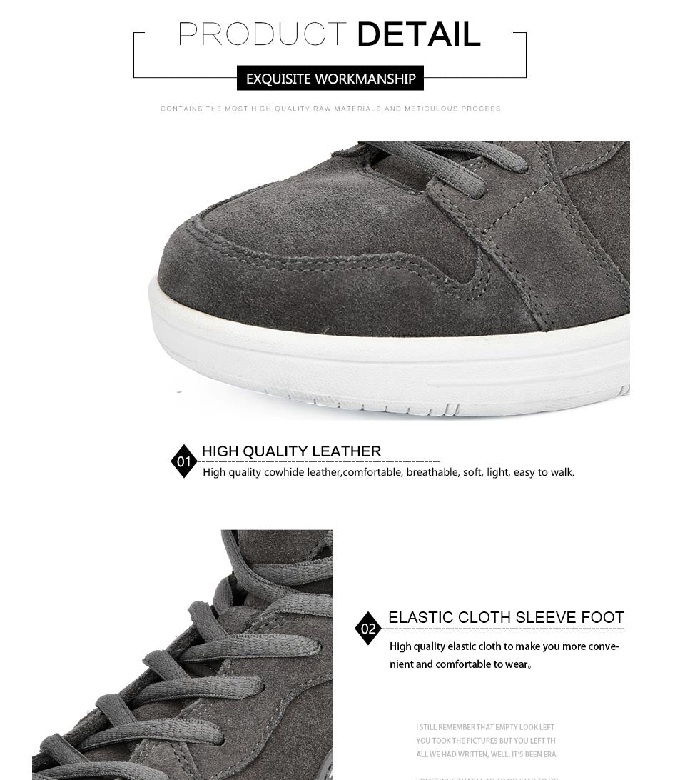 Men's Skateboarding Suede Sneakers