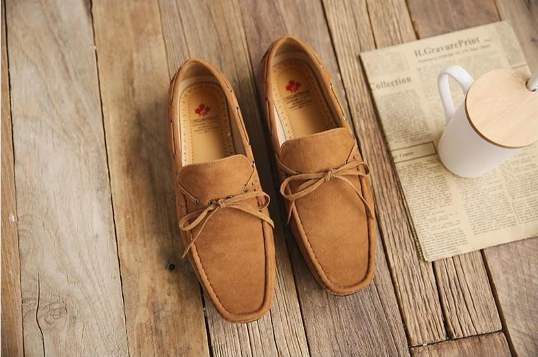 Men's Suede Loafers