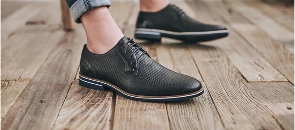 Lace-up Leather Shoes
