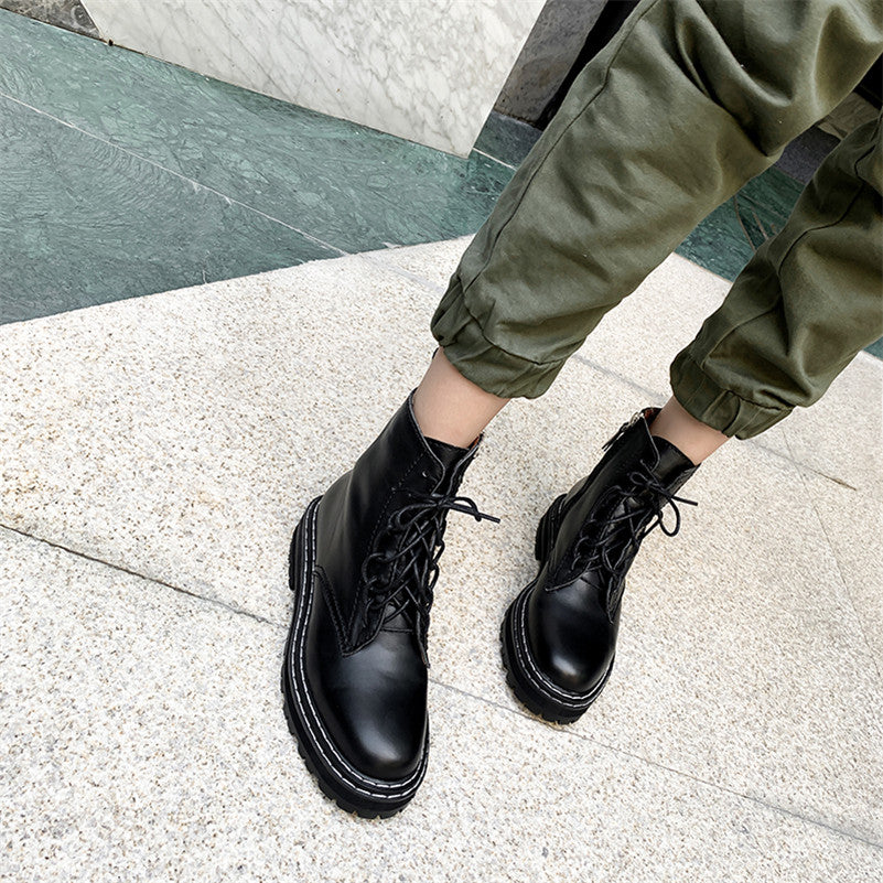Genuine Leather Military Boots
