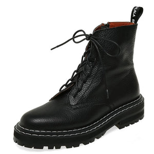 Open image in slideshow, Genuine Leather Military Boots
