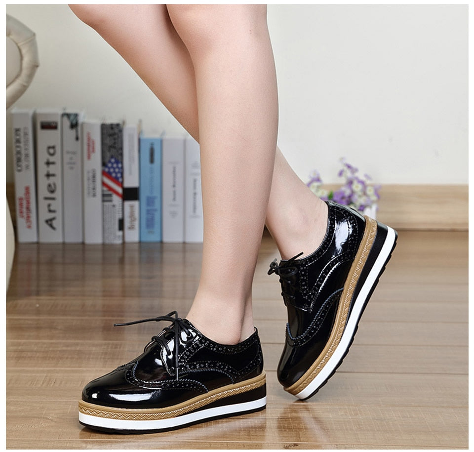 Flat Oxford Shoes For Women