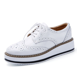 Open image in slideshow, Flat Oxford Shoes For Women