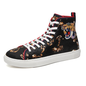 Open image in slideshow, Bengal Tiger Lace-Up Sneakers