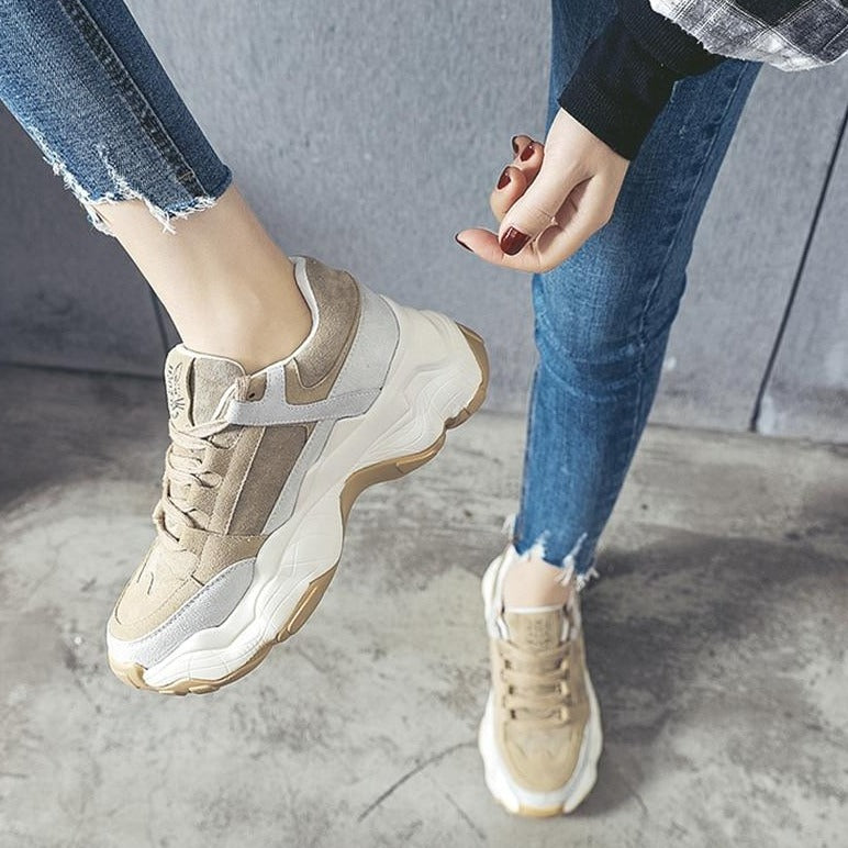 Thick Bottom Platform Sneakers