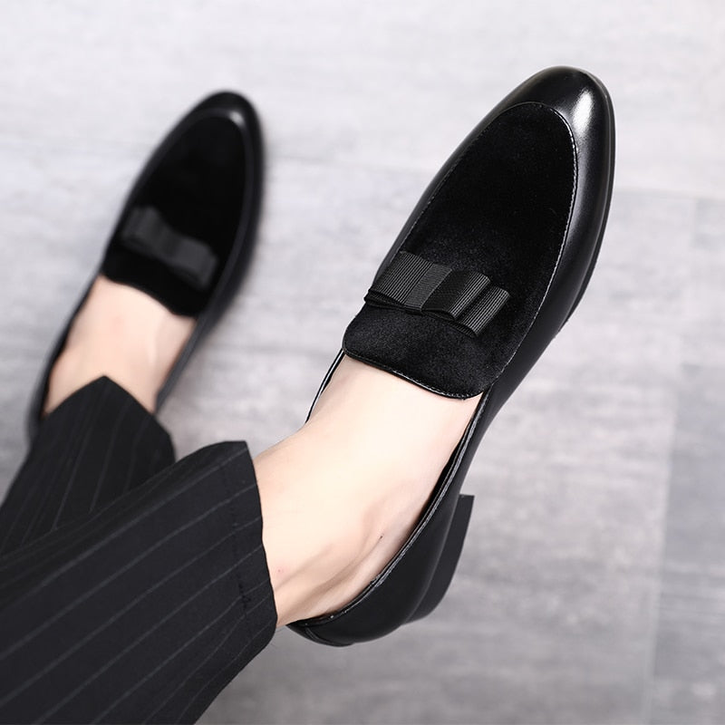 Luxury Bowknot Dress Shoes