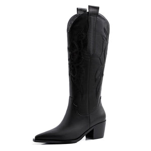 Open image in slideshow, Genuine Western Leather Boots