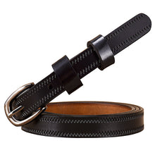 Load image into Gallery viewer, Genuine Leather Buckle Belt